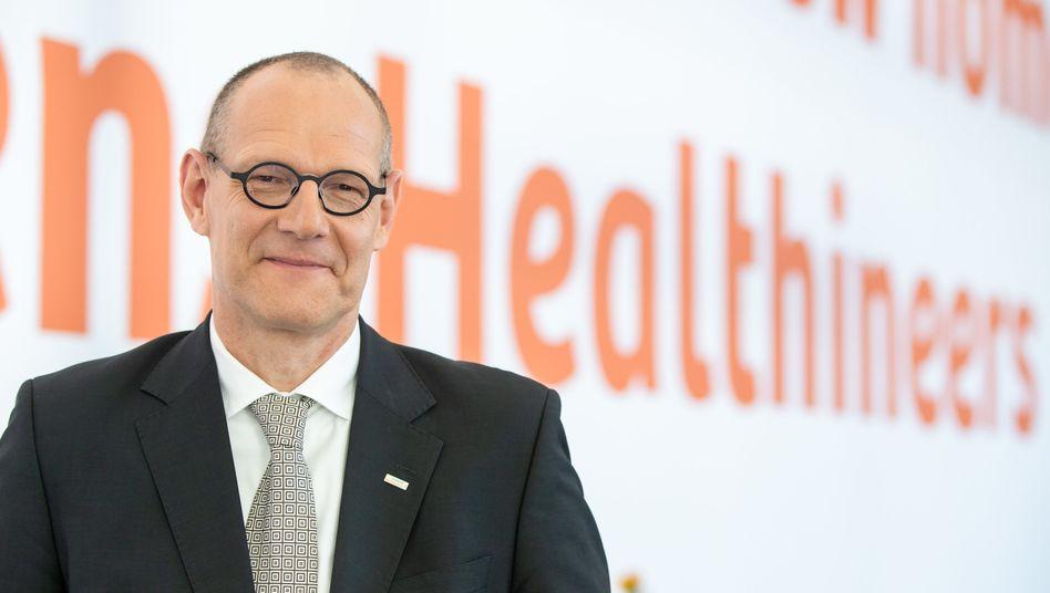 Bernd Montag, Chef von Siemens Healthineers, will mit dem Medizintechnikkonzern nach der Übernahme von Varian gern in den Dax aufsteigen