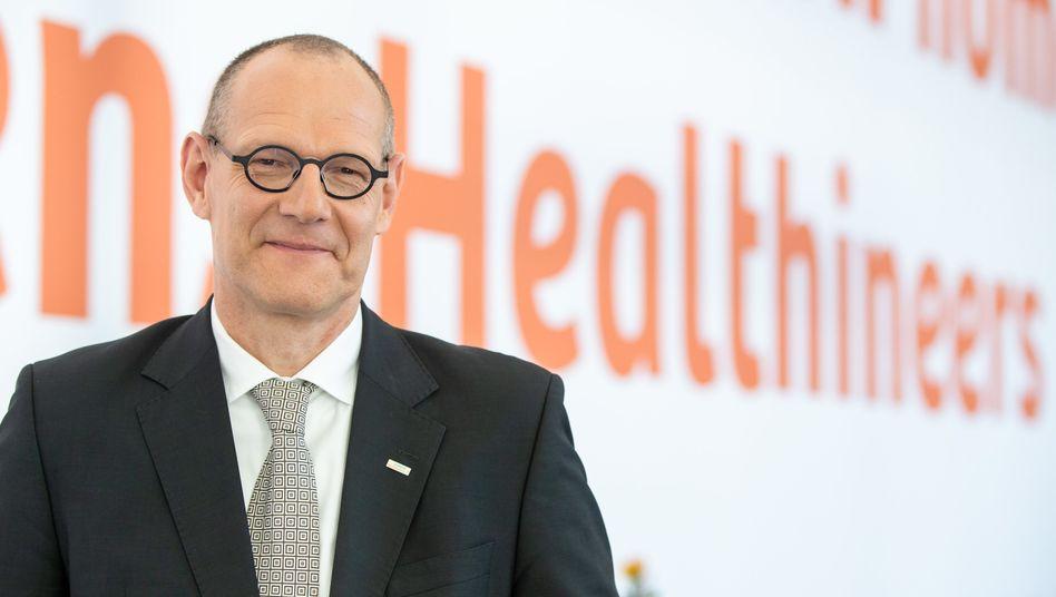 Bernd Montag, Chef von Siemens Healthineers, macht aus seinen Ambitionen, nach der Übernahme von Varian Medical Systems in den Dax aufzusteigen, keinen Hehl