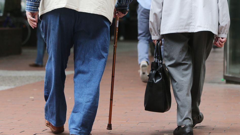 Rentnerpaar: Minijobber sorgen nicht genügend für die Rente vor