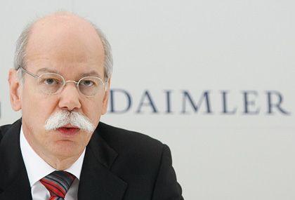 Daimler-Chef Zetsche: Arbeit gibt es für ihn - ganz unabhängig von Renault - reichlich