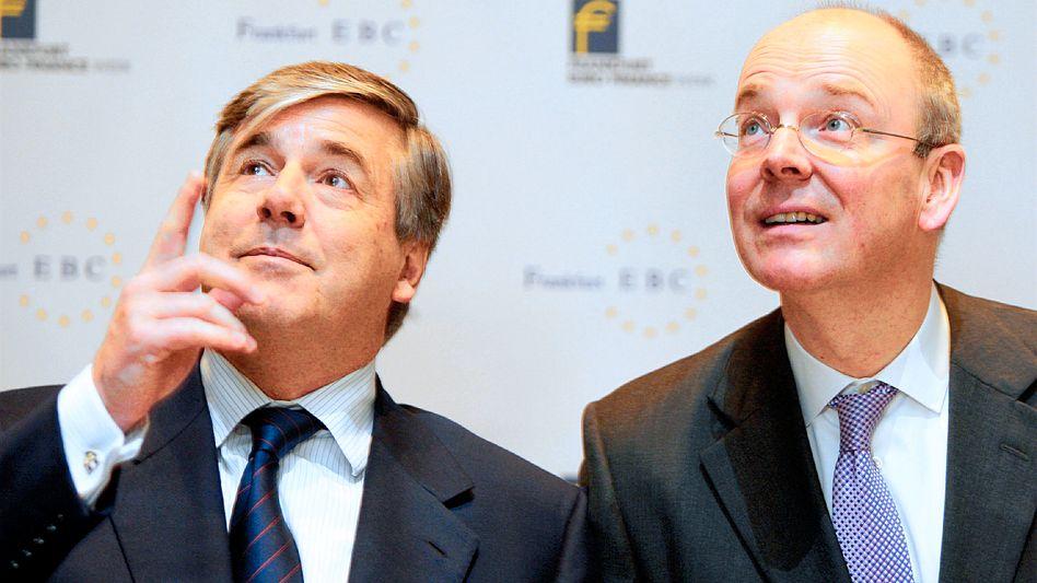 Josef Ackermann und Martin Blessing: Die alten Geschäftsmodelle funktionieren nicht mehr