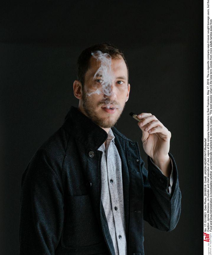 Der neue Marlboro-Mann: Die Juul-Gründer James Monsees (Foto) und Adam Bowen sind bereits Milliardäre.