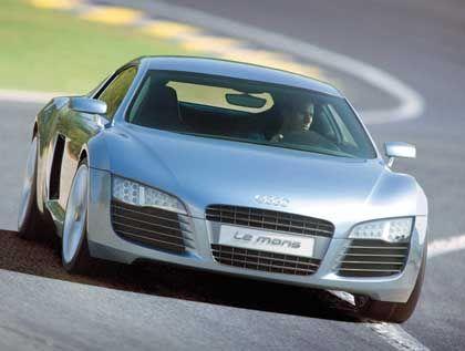 Audi-Studie Le Mans: Inspiriert vom Siegerauto des legendären Rennens