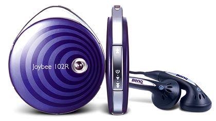 iPod, wir kommen: Mit dem Flash-MP3-Player Joybee 102 R setzt BenQ auf die größte Stärke der Apple-Konkurrenz - Design