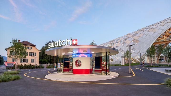 Swatch-Konzern: Das neue Headquarter in Biel