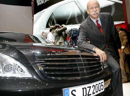 Will Mercedes- und DaimlerChyslerchef in Personalunion bleiben: Dieter Zetsche