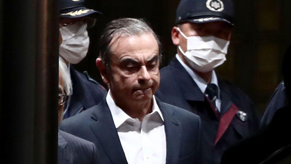 Carlos Ghosn: Nun droht ihm auch in den Niederlanden der Prozess