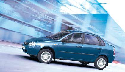 Lada Kalina: Kleinwagen mit flottem Motor und bunter Geräuschkulisse