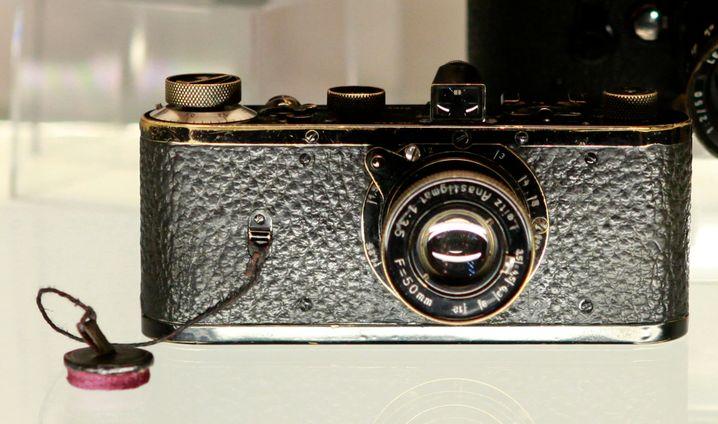 Sammlerstück: Leica Nummer 116 von 1923, versteigert 2012 in Wien