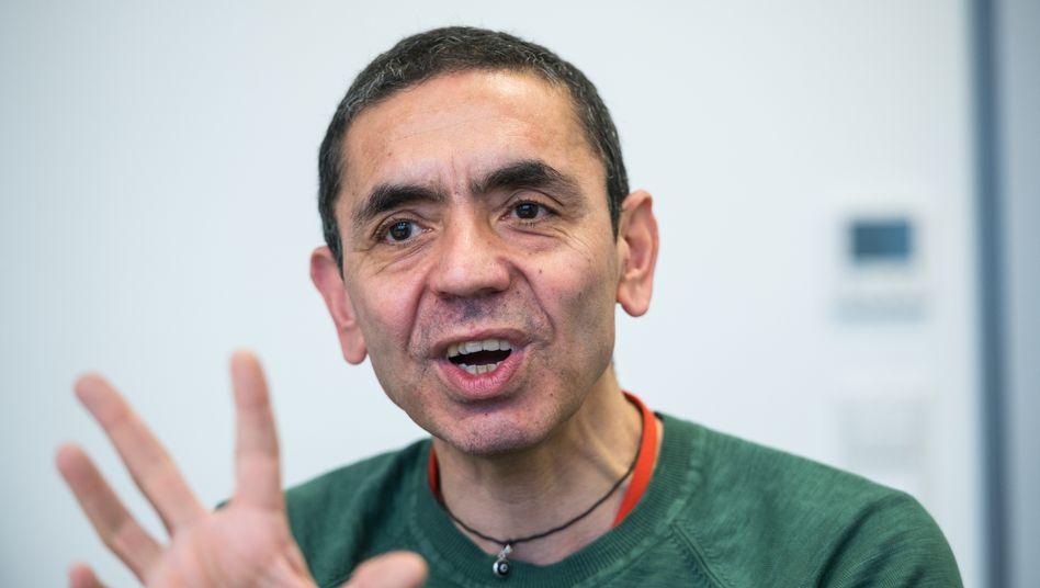 Biontech-Chef Ugur Sahin forscht gegen die Corona-Krise.