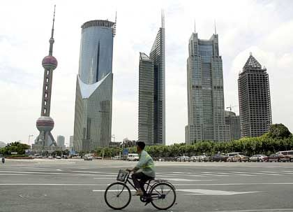 Shanghai: In der chinesischen Metropole investiert Bayer Milliarden.