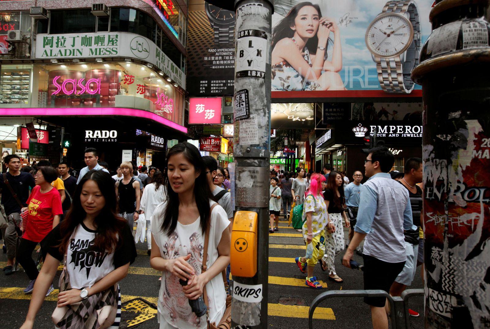 Asien Shopping / Hongkong