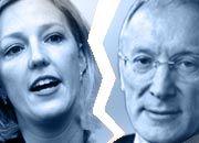 Riss zwischen Star-Managerin und Vorstandschef: Robin Saunders, Jürgen Sengera