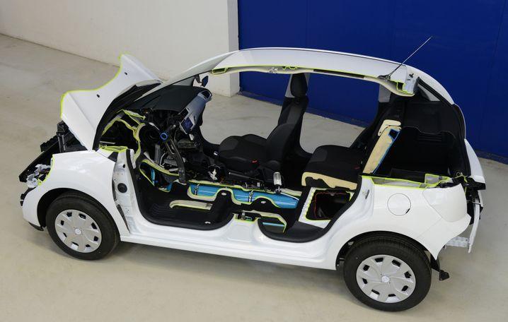Druckluft-Hybrid: Kommt nicht, weil PSA nun auch bei neuen Technologien stark auf Rentabilität achtet