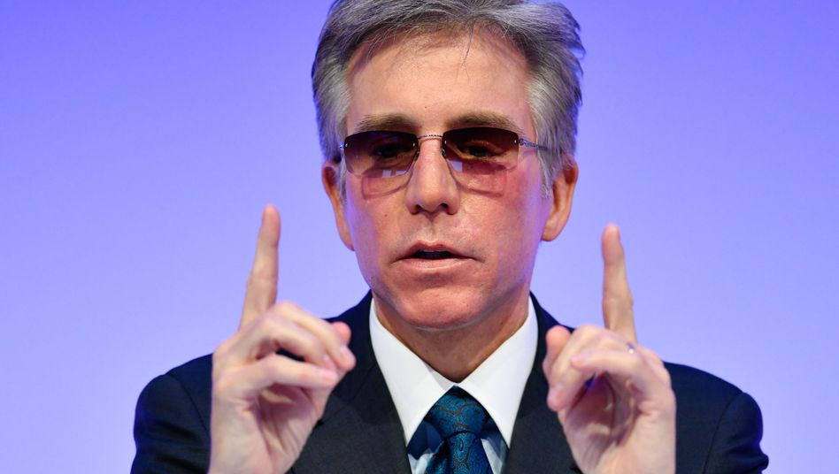 SAP-Chef Bill McDermott (Archivaufnahme Januar 2018)
