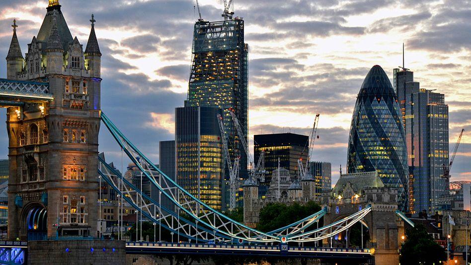Metropole des Geldes: Londons City.