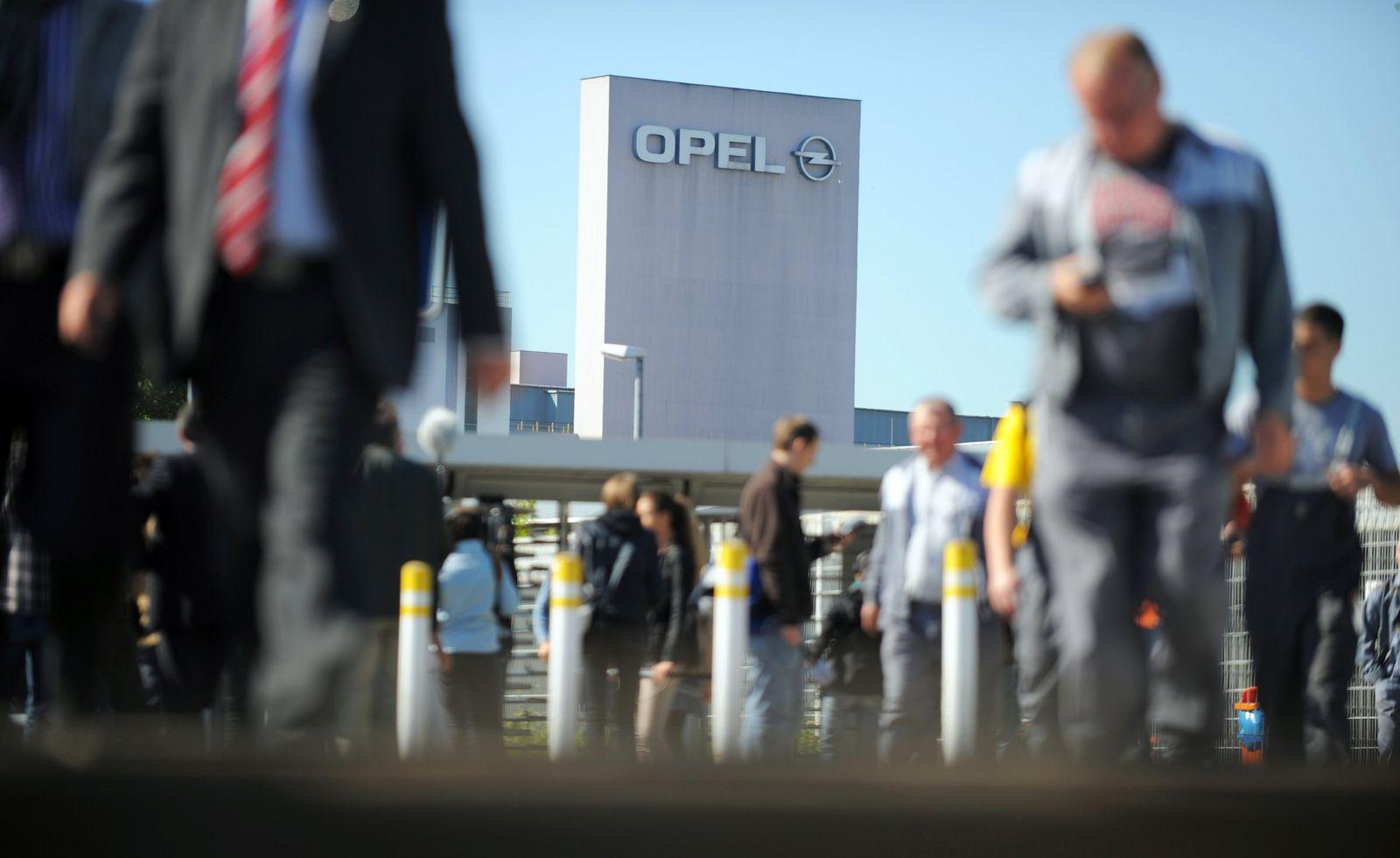 Opel / Rüsselsheim / Mitarbeiter / GM