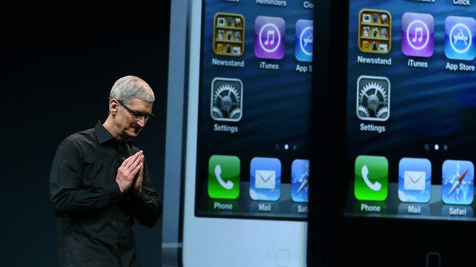 Tim Cook: Nach einem erfolgreichen ersten Jahr hat sich die Wall Street von dem Apple-CEO abgewendet