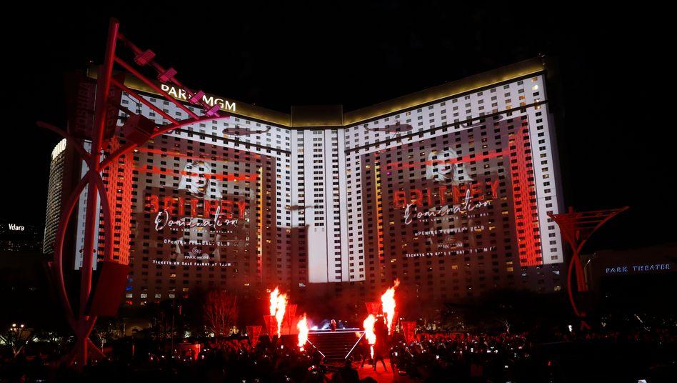 MGM Hotel-Casino in Las Vegas: Die Glücksspielmetropole ist von der Corona-Pandemie besonders hart betroffen