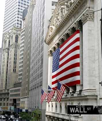 Kein Handel am Dienstag: Die New York Stock Exchange
