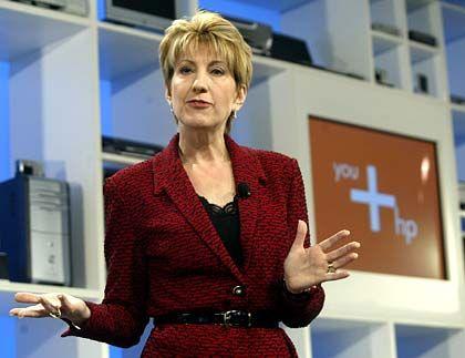 Verstimmt die Analysten: HP-Chefin Fiorina legte Zahlen unter den Erwartungen der Märkte vor