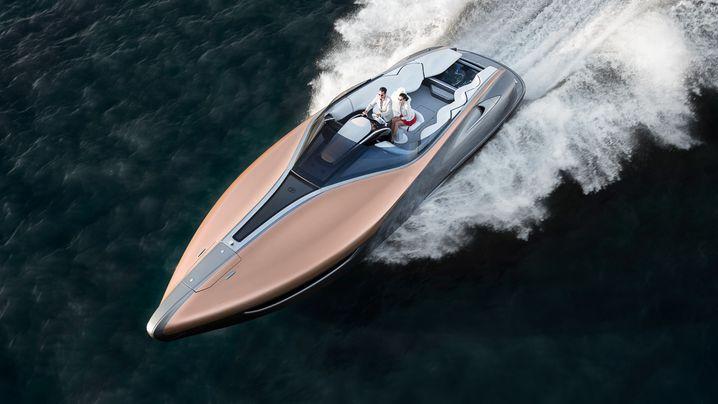 Yachten der Autobauer: Hier cruisen Lexus, Mercedes, BMW und Porsche