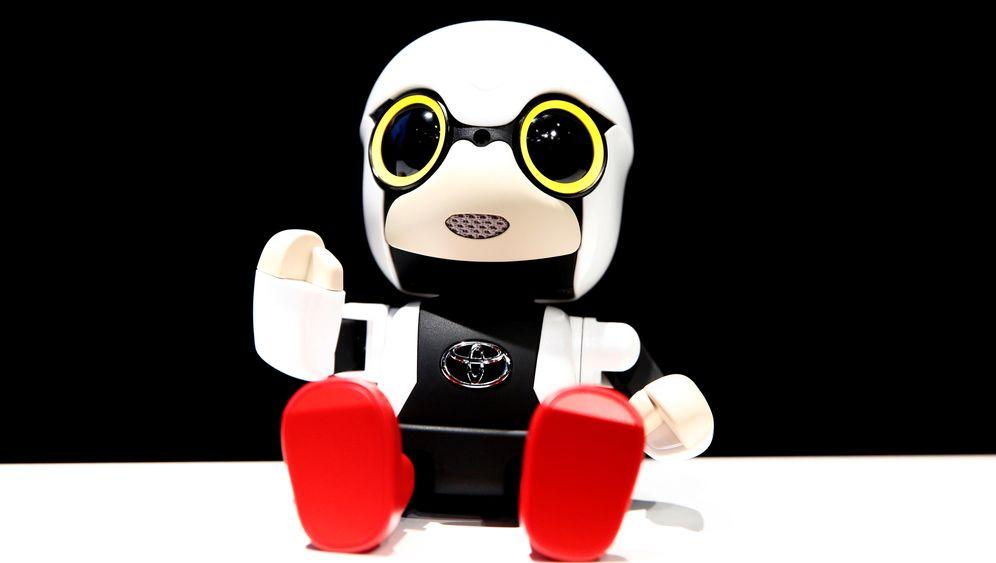 Toyota und der Roboter: Der ständige Begleiter Kirobo Mini