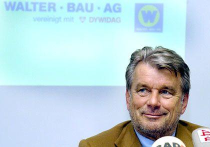 Strabag-Chef Hans Peter Haselsteiner will die österreichische Bauholding mit der Suttgarter Züblin AG fusionieren. Da funkt ihm allerdings die Industriellenfamilie Lenz dazwischen