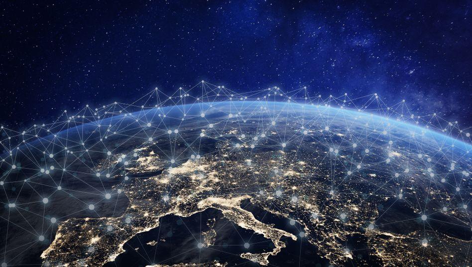 Vernetzter Kontinent: Die europäische Cloud soll jetzt Realität werden.