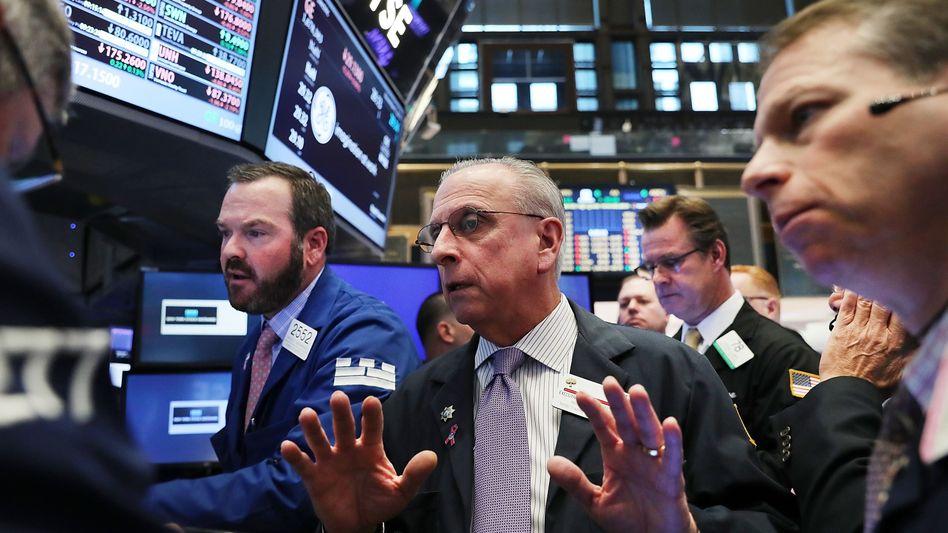 Händler an der Wall Street: Entspannung trotz Trump