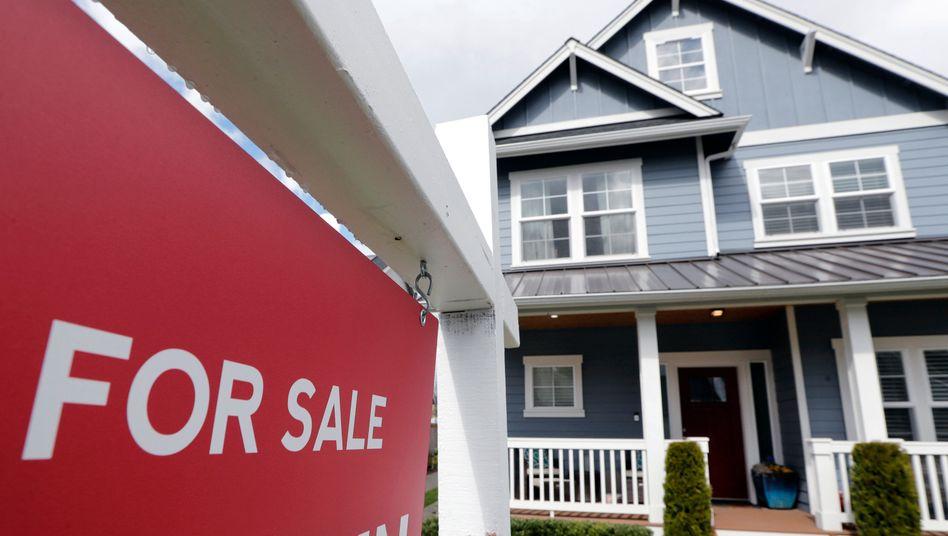 Haus zu verkaufen: Dieses steht in Monroe, einem Vorort von Seattle, US-Staat Washington