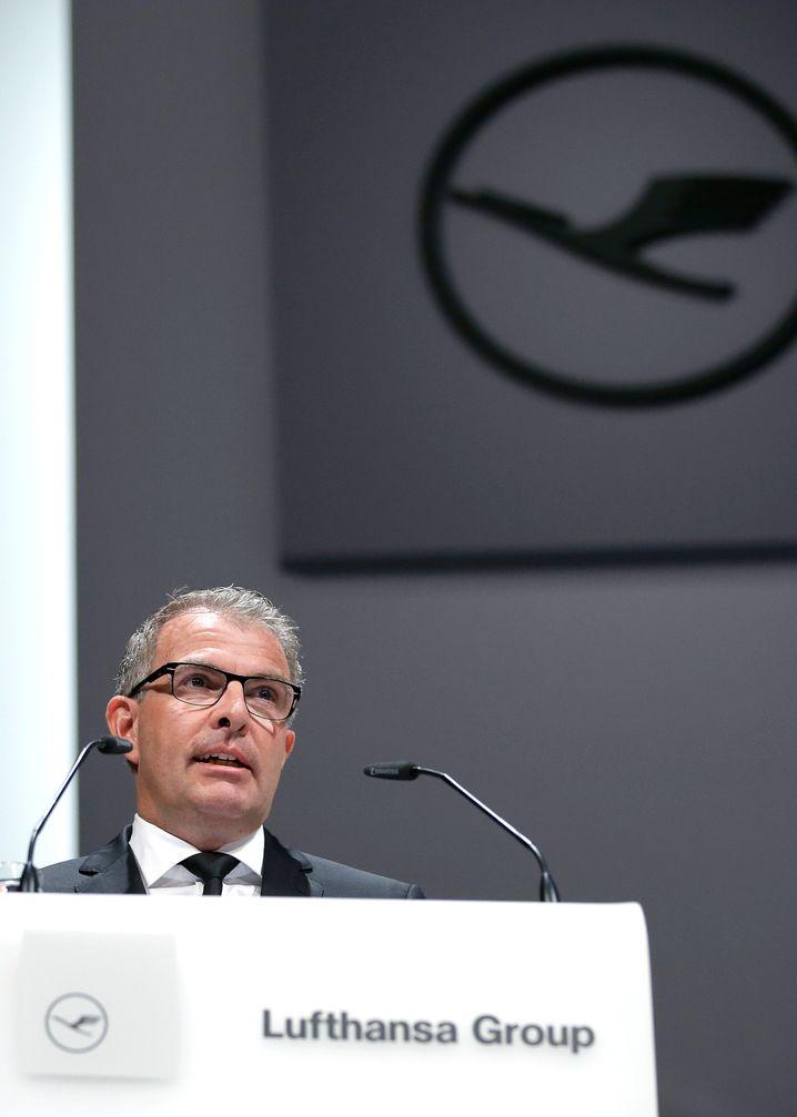Lauter Probleme trotz Milliardengewinn: Carsten Spohr, Lufthansa-Chef seit 2014