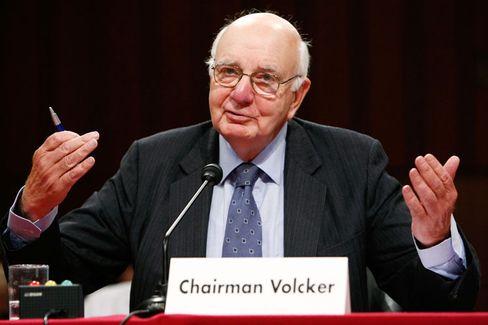 Bankerschreck: US-Regierungsberater Paul Volcker