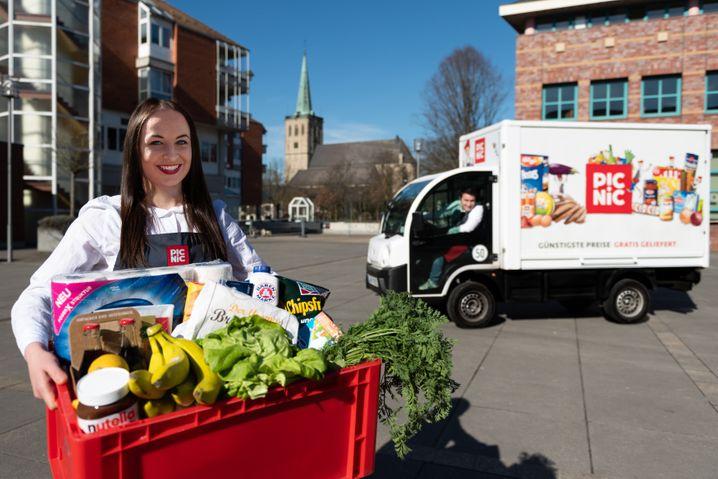 Picnic hat bereits Wartelisten eingeführt: Online-Supermärkte boomen