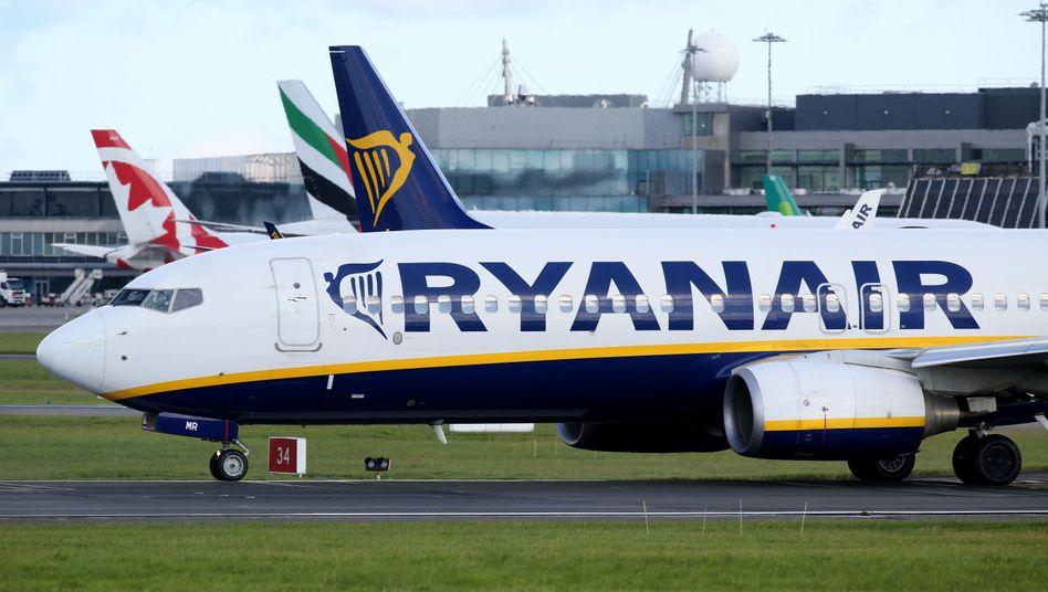 Ryanair-Maschinen werden am Mittwoch in Deutschland wohl nur noch vereinzelt landen und abheben