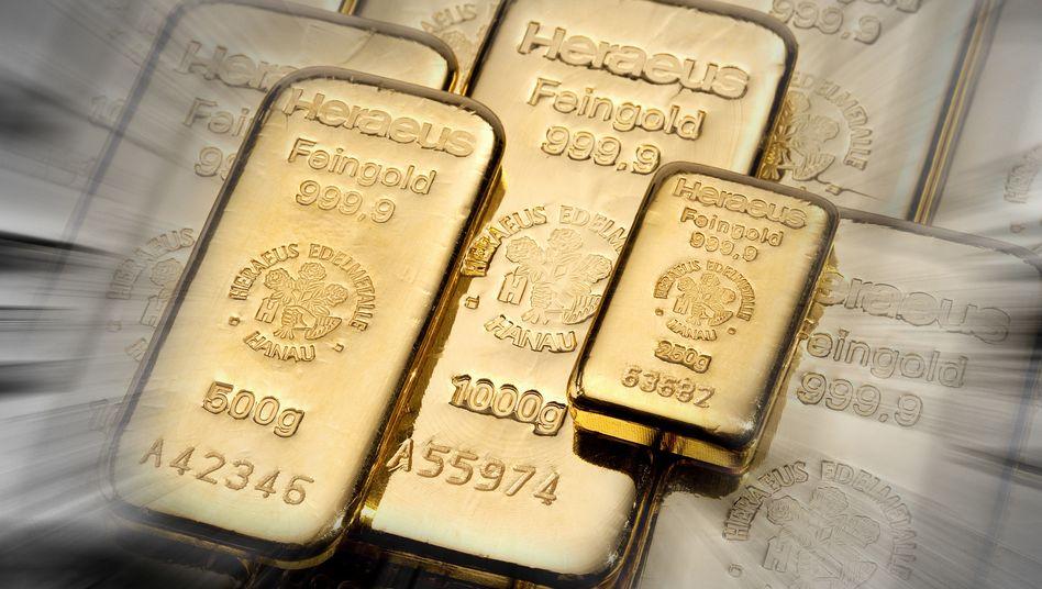 Gold strahlt wieder