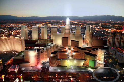 Luftschlösser: US-Immobilienpläne, hier ein neues Zentrum für Las Vegas