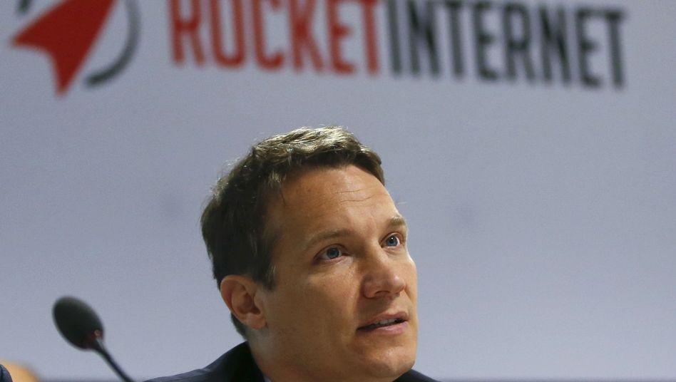 Rocket-Internet-Gründer Oliver Samwer: Seit März ist die Start-up-Schmiede im MDax notiert