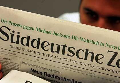 """Kind des Süddeutschen Verlags: Die """"Süddeutsche Zeitung"""" gehört zu den größten Tageszeitungen Deutschlands"""