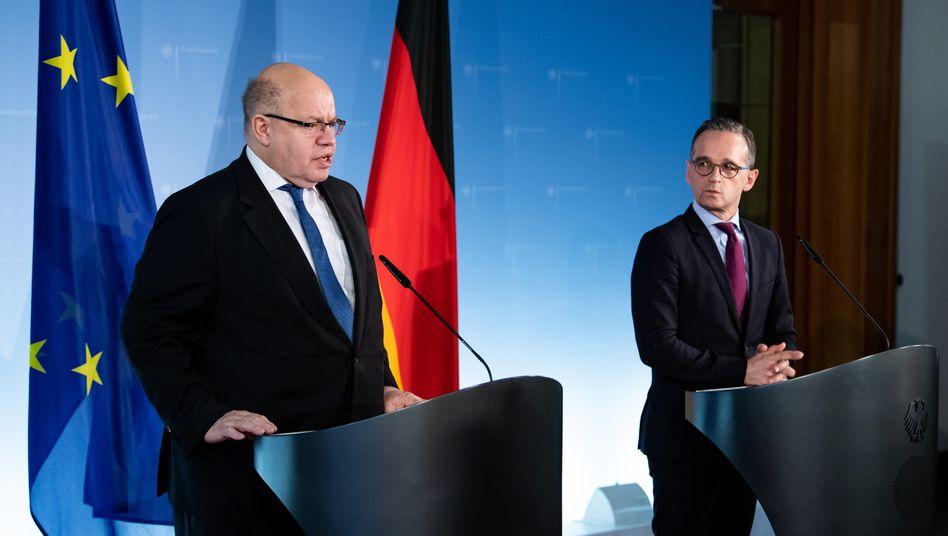 Peter Altmaier und Heiko Maas (Archivbild von 2019)
