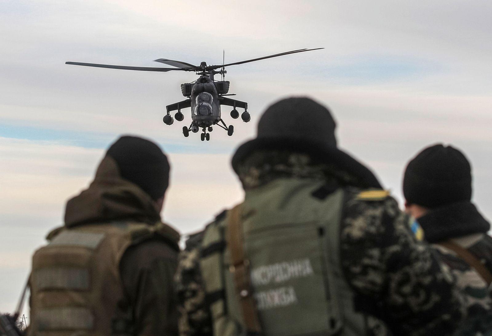 russischer Helikopter