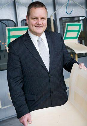 Neue Geschäftsführung: Roland Ohnacker übernahm im April 2008 als familienfemder Branchenprofi den Chefsessel