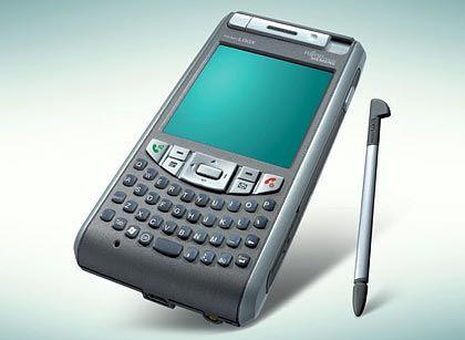Mobilfunkwelt: Die Pocket Loox T-Serie von Fujitsu Siemens Computers bietet Push-Mail, VoIP, MP3-Player und UMTS