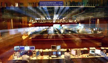 Börse in Frankfurt: Der Dax verlief uneinheitlich