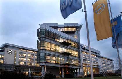 Opel-Zentrale in Rüsselsheim: Modernste Autofabrik Europas