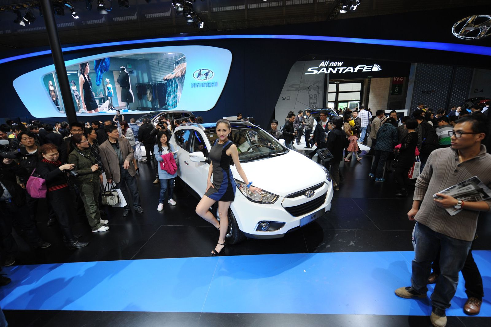 CHINA-AUTO-SHOW 2013 / Hyundai