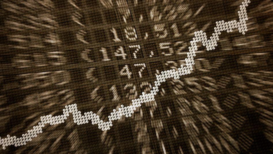 Dax-Kurve: Am Mittwoch geht es wieder aufwärts