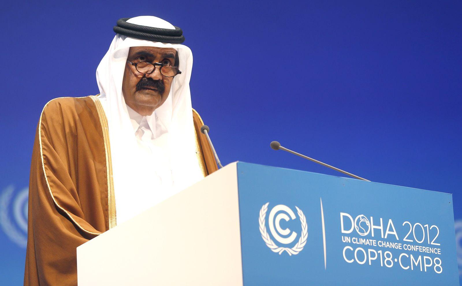 Emir / Doha / Umweltgipfel Qatar