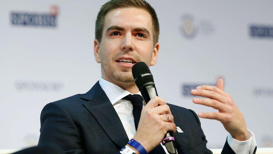 Ex-Fußball-Nationalspieler Philipp Lahm: Die ARD hat sich deutlichere Kritik von dem 34-Jährigen gewünscht