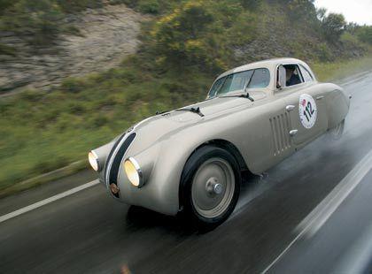 BMW 328 Touring Coupé: Experimente in allen Segmenten